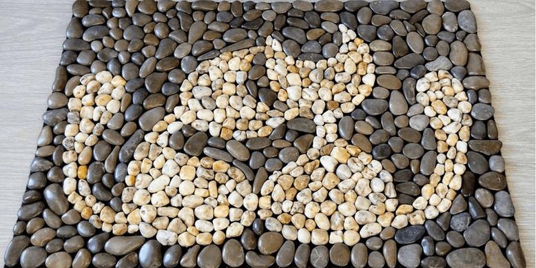 Поделки из камней для детей в школу